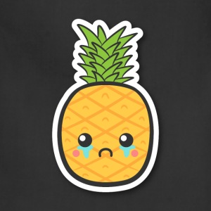 cute but sad pineapple T-Shirts - Adjustable Apron