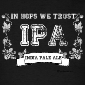 In Hops We Trust Women's Long Sleeve T-Shirt - Men's T-Shirt