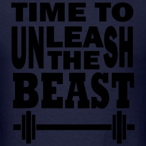 Unleash the beast Long Sleeve Shirts - Men's T-Shirt