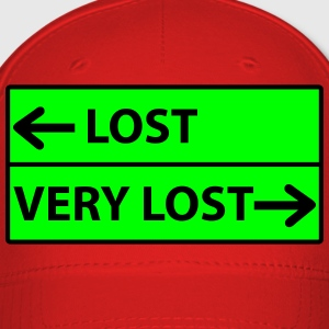 Lost - Very Lost Road Sign T-Shirts - Baseball Cap