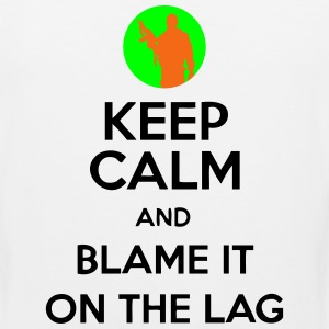 Keep Calm And Blame It On The Lag [Gaming] Hoodies - Men's Premium Tank