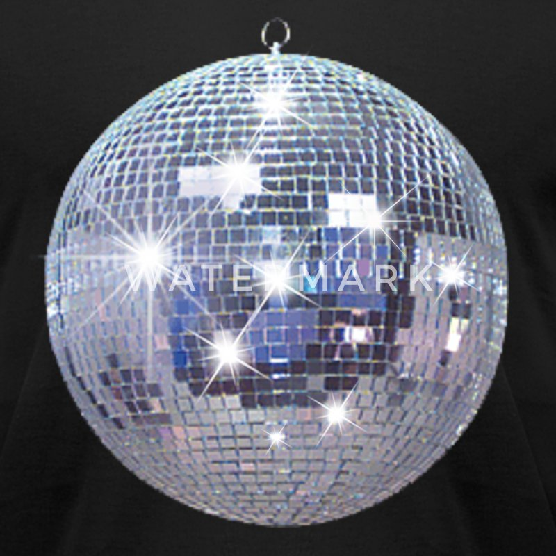 Disco Ball  T-Shirts - Men's T-Shirt by American Apparel