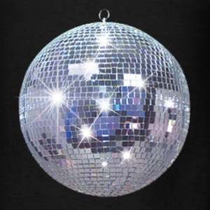 Disco Ball  Hoodies - Men's T-Shirt