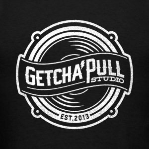 Getcha'Pull Studio Logo White Hoodies - Men's T-Shirt