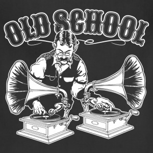 OLD SCHOOL DJ T-Shirts - Adjustable Apron
