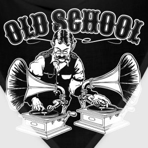 OLD SCHOOL DJ T-Shirts - Bandana