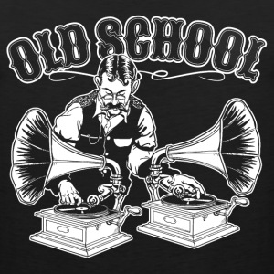OLD SCHOOL DJ T-Shirts - Men's Premium Tank