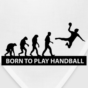 born to play handball Kids' Shirts - Bandana