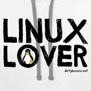 Linux Lover Women's T-Shirts - Contrast Hoodie