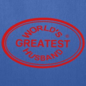 WORLD'S GREATEST HUSBAND - Tote Bag