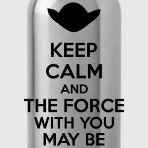 Keep Calm And The Force With You May Be Long Sleeve Shirts - Water Bottle