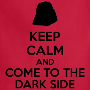 Keep Calm And Come To The Dark Side Baby & Toddler Shirts - Adjustable Apron