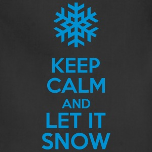 Keep Calm And Let It Snow Hoodies - Adjustable Apron