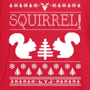 Squirrel Ugly Sweater Women's T-Shirts - Women's Flowy Tank Top by Bella