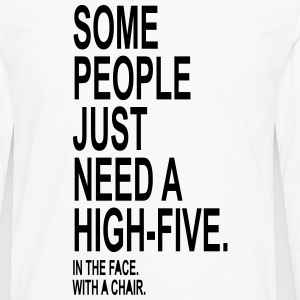 High Five T-Shirts - Men's Premium Long Sleeve T-Shirt