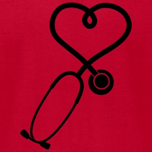 stethoscope_2_sp7 Sweatshirts - Men's T-Shirt by American Apparel