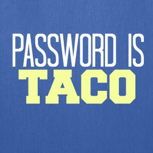 Password Is Taco T-Shirts - Tote Bag