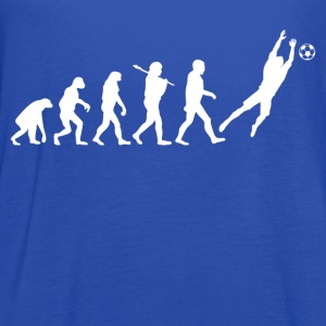 Evolution of Goalkeeper Kids' Shirts - Women's Flowy Tank Top by Bella