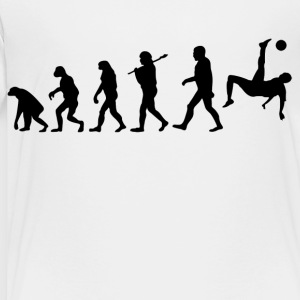 Evolution Of Soccer Kids' Shirts - Toddler Premium T-Shirt