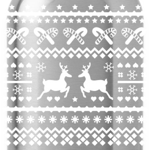 christmas reindeer Hoodies - Water Bottle
