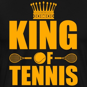 King of Tennis  Hoodies - Men's Premium T-Shirt
