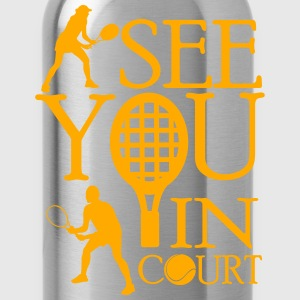 Tennis - I see you in court Tank Tops - Water Bottle