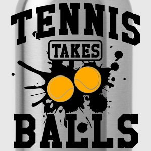 Tennis takes balls Tanks - Water Bottle