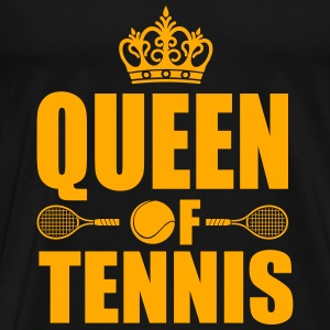 Queen of Tennis  Tanks - Men's Premium T-Shirt