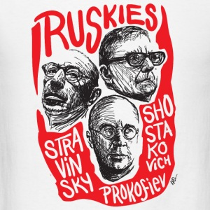 Ruskies-Russian composers - Men's T-Shirt