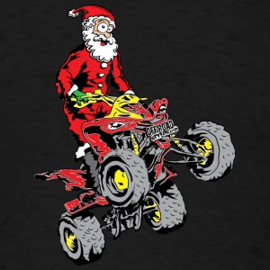 Santa Quad ATV Sweatshirts - Men's T-Shirt