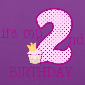 It's My 2nd Birthday - Tote Bag