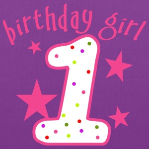 1st Birthday Girl - Tote Bag