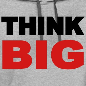 Think Big T-Shirts - Contrast Hoodie
