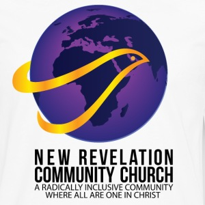 New Revelation Community Church Logo w/ Tagline T-Shirts - Men's Premium Long Sleeve T-Shirt