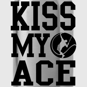Kiss my ace - Tennis  Hoodies - Water Bottle