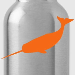 large narwhal - Water Bottle