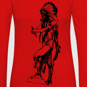 Native American - Women's Premium Long Sleeve T-Shirt