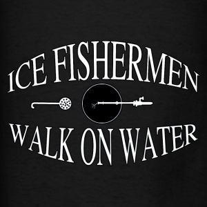 Ice Fishing  - Men's T-Shirt