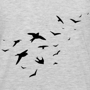 birds Hoodies - Men's Premium Long Sleeve T-Shirt