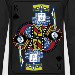 King of Spades - Men's Premium Long Sleeve T-Shirt