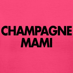 champagne mami - Women's V-Neck T-Shirt