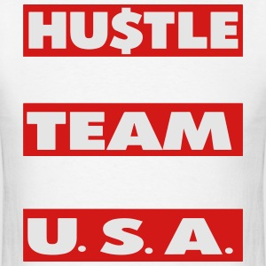 HUSTLE TEAM USA - Men's T-Shirt