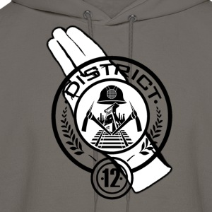 Hunger Games District 12 T-Shirts - Men's Hoodie