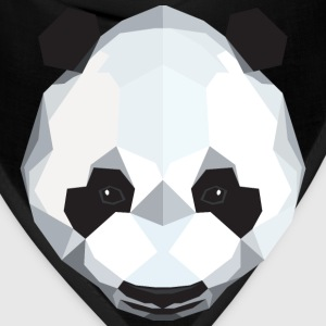 Polygon Panda T-Shirts - Bandana