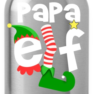 Papa Elf T-Shirts - Water Bottle
