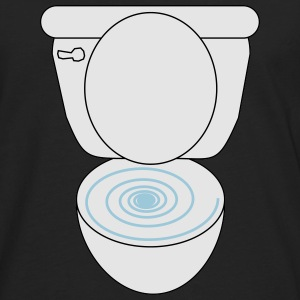 Swirly Toilet - Men's Premium Long Sleeve T-Shirt
