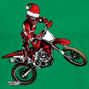 Dirtbiker Christmas Hoodies - Men's Premium T-Shirt