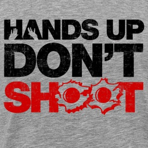 Hands Up Don't Shoot Long Sleeve Shirts - Men's Premium T-Shirt