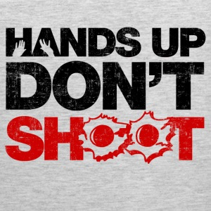 Hands Up Don't Shoot Long Sleeve Shirts - Men's Premium Tank