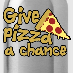 Give pizza a chance - Water Bottle